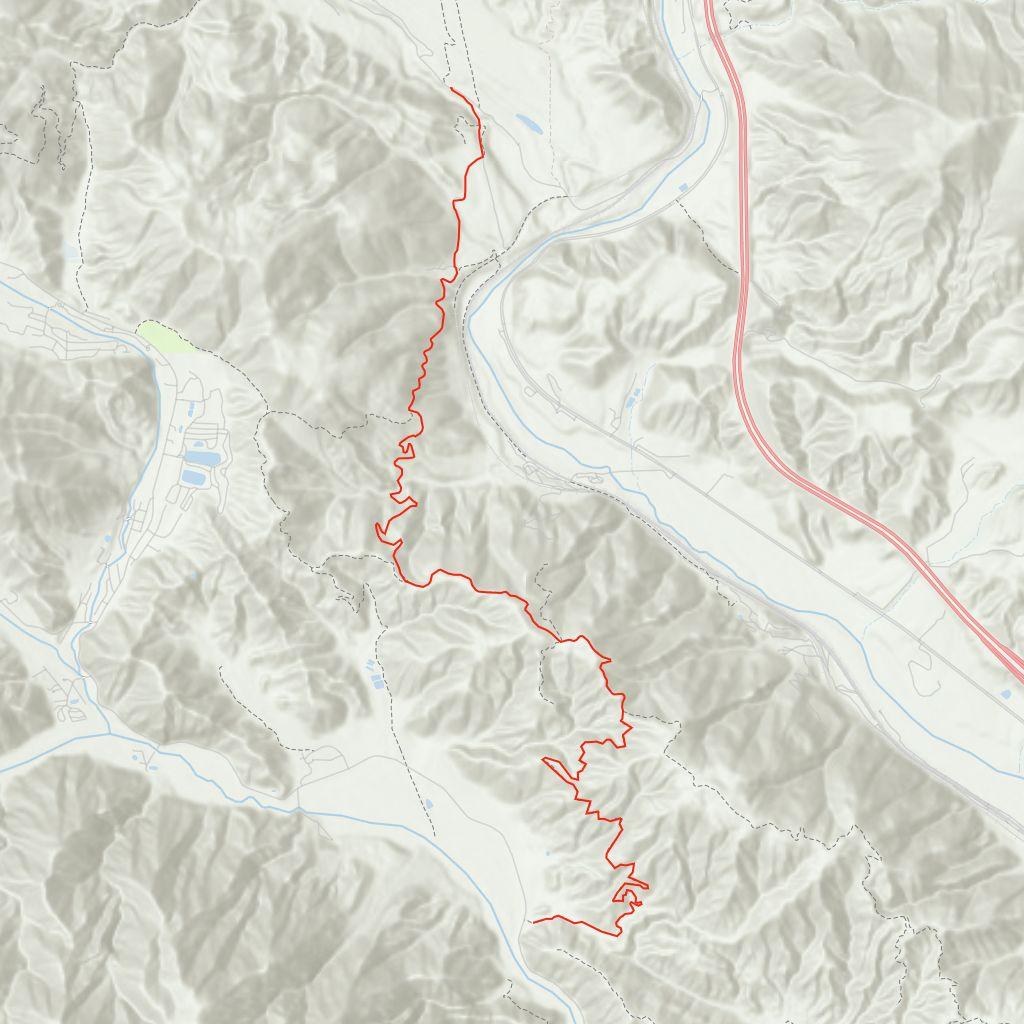 Cajon Pass Fire Map.Lytle Creek 2n79 Swarthout Canyon Gaia Gps